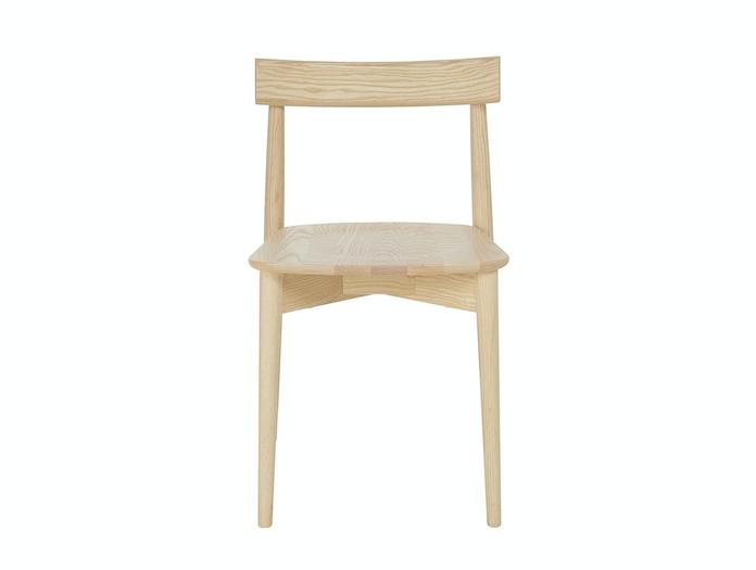 Ercol Lara Chair Ash Front