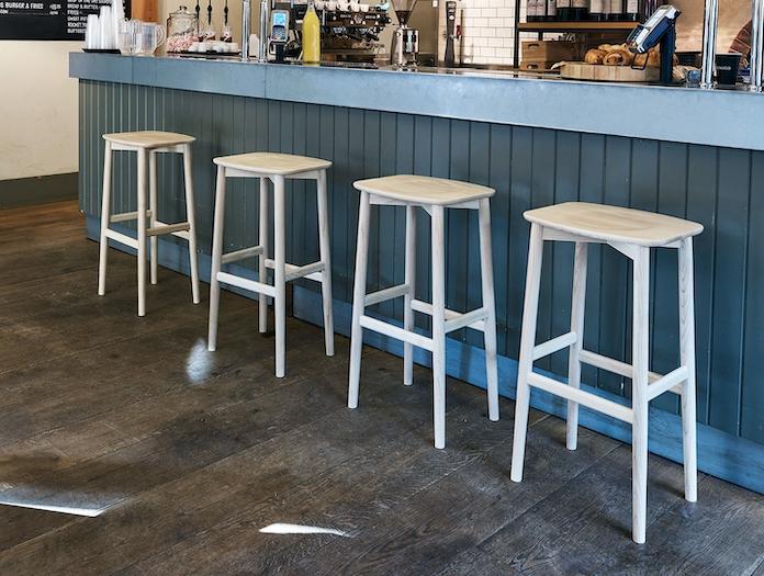 Ercol Originals Bar Stools 4 Lucian Ercolani