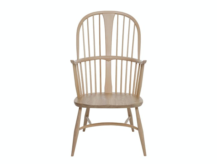 Ercol Originals Chairmakers Chair Front Lucian Ercolani