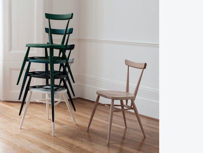 Ercol Originals Stacking Chairs Lucian Ercolani