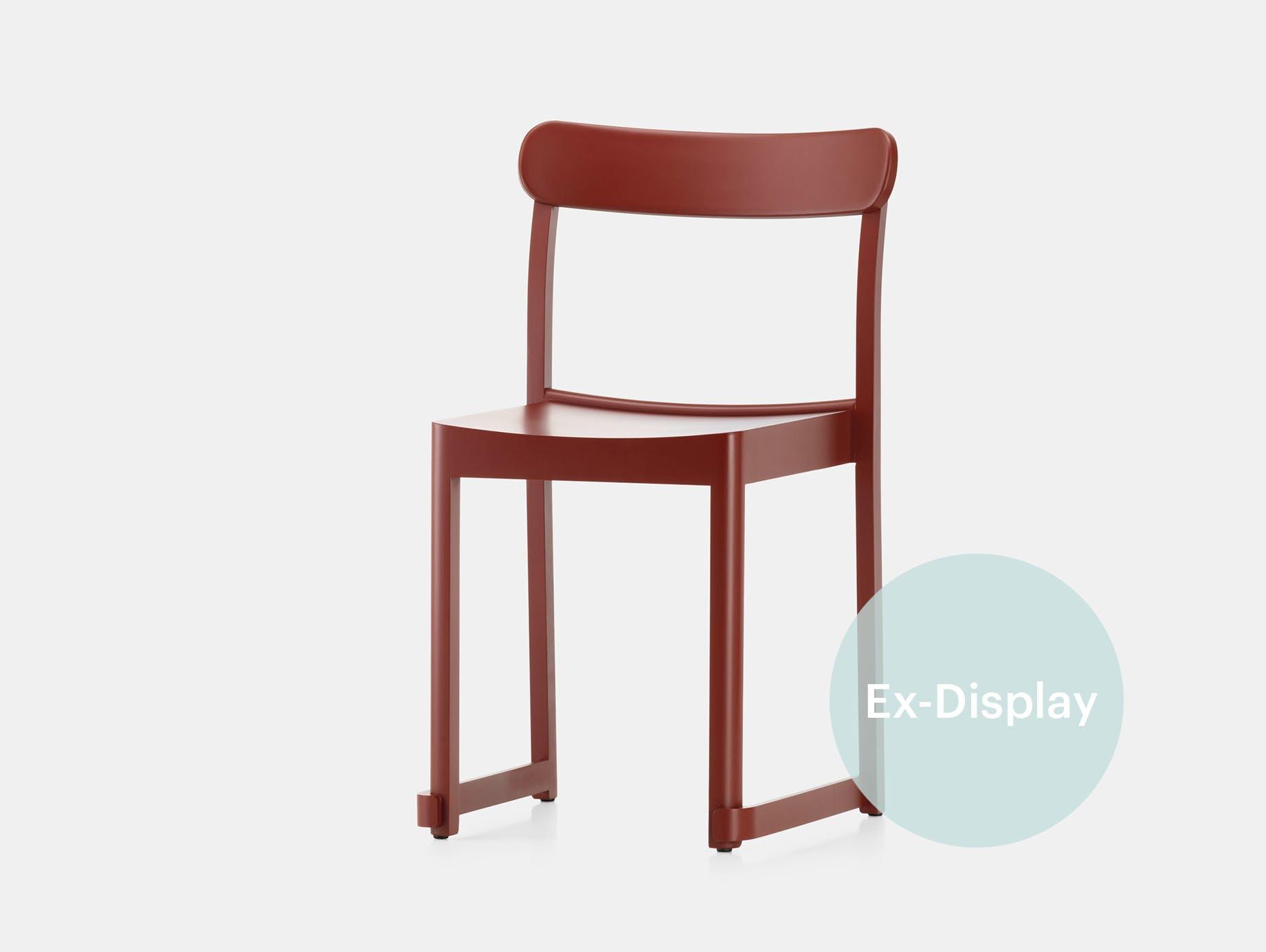 Artek atelier chair red xdp sale