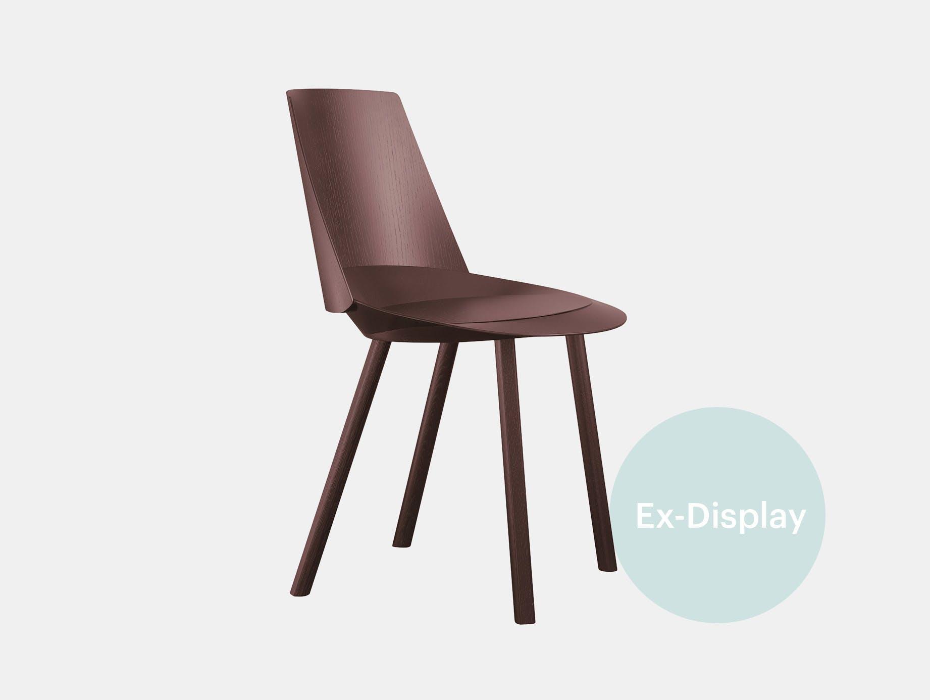 E15 houdini chair chocolate brown ct xdp