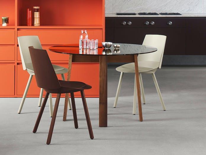 E15 houdini chair chocolate brown ls 3