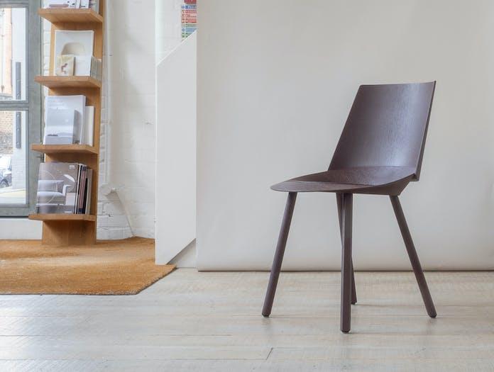 E15 houdini chair chocolate brown
