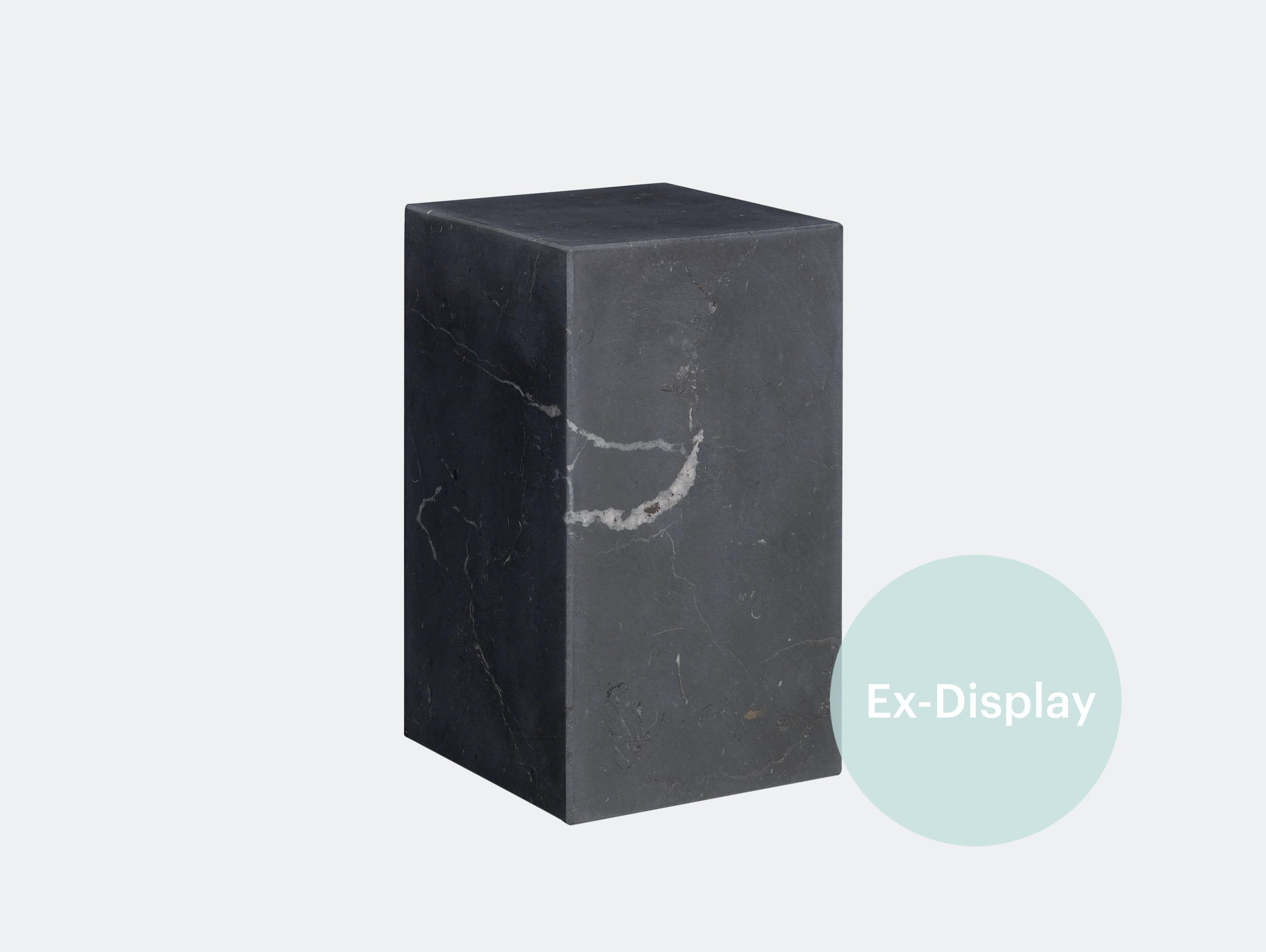 E15 stop marble bookend black xdp