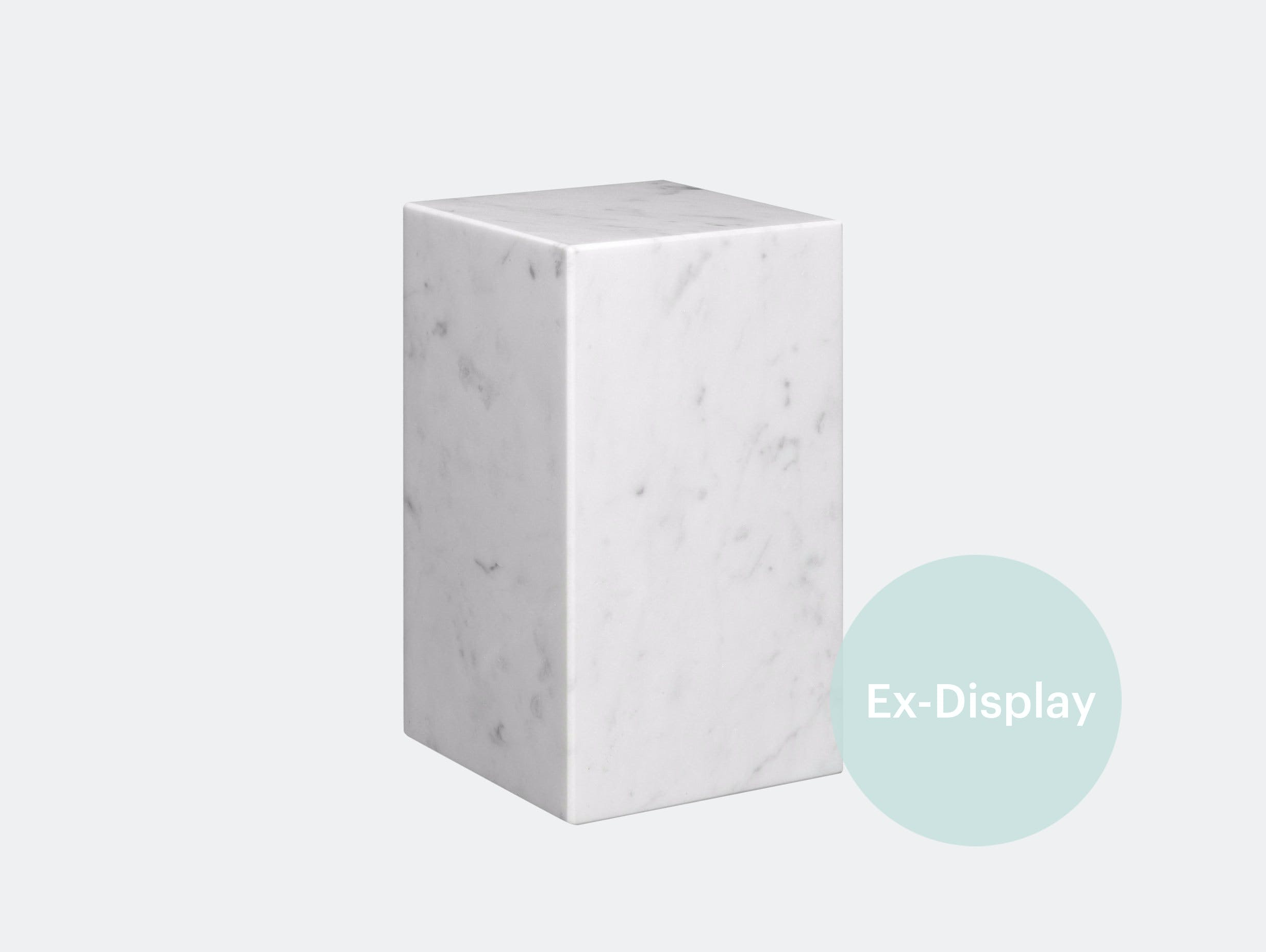 E15 stop marble bookend white xdp