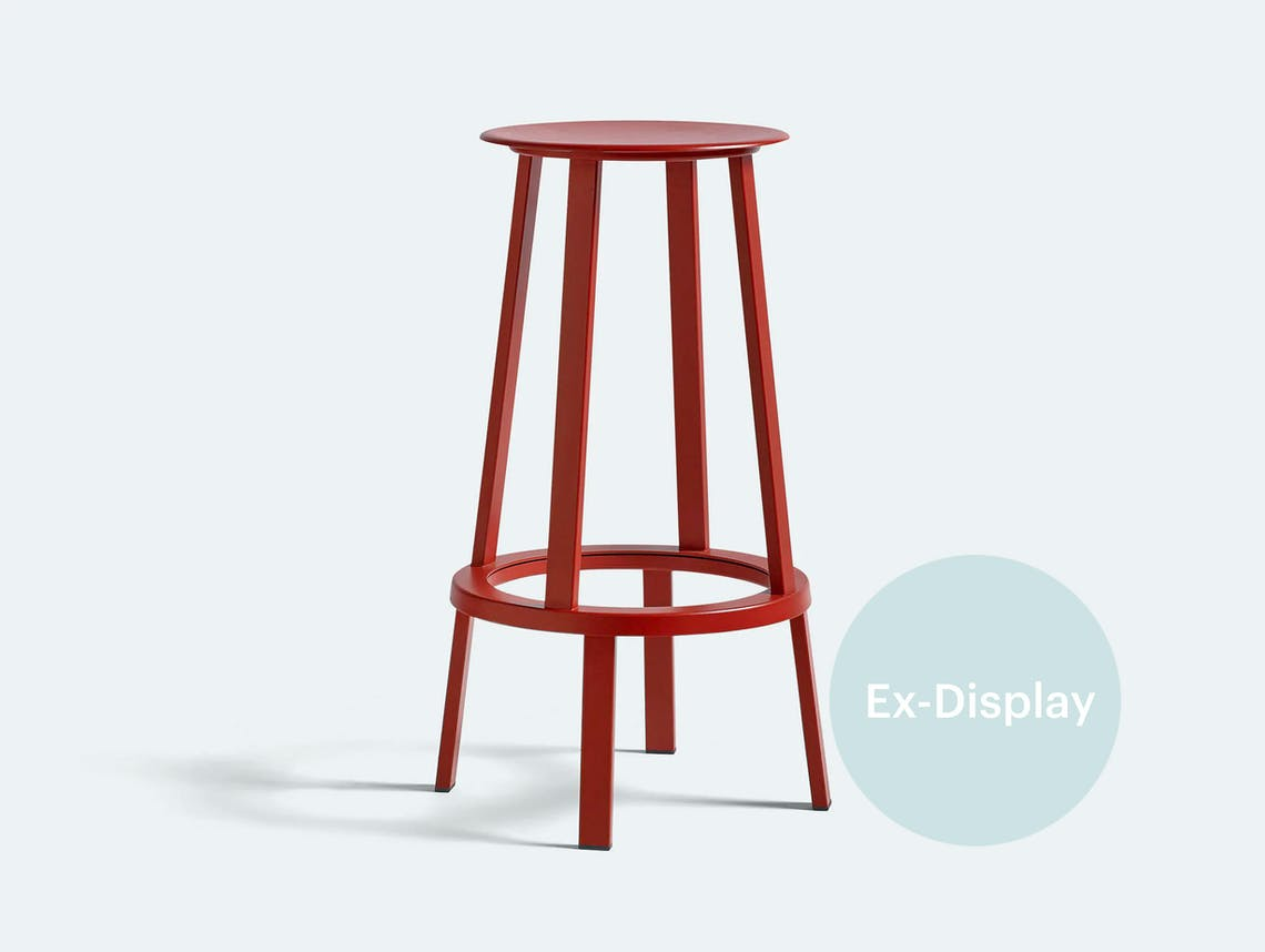 Hay high revolver stool red xdp