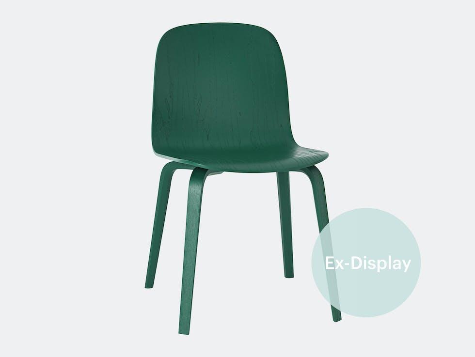 SOLD - Visu Chair, Wood Base Green / 50% off at £134 image