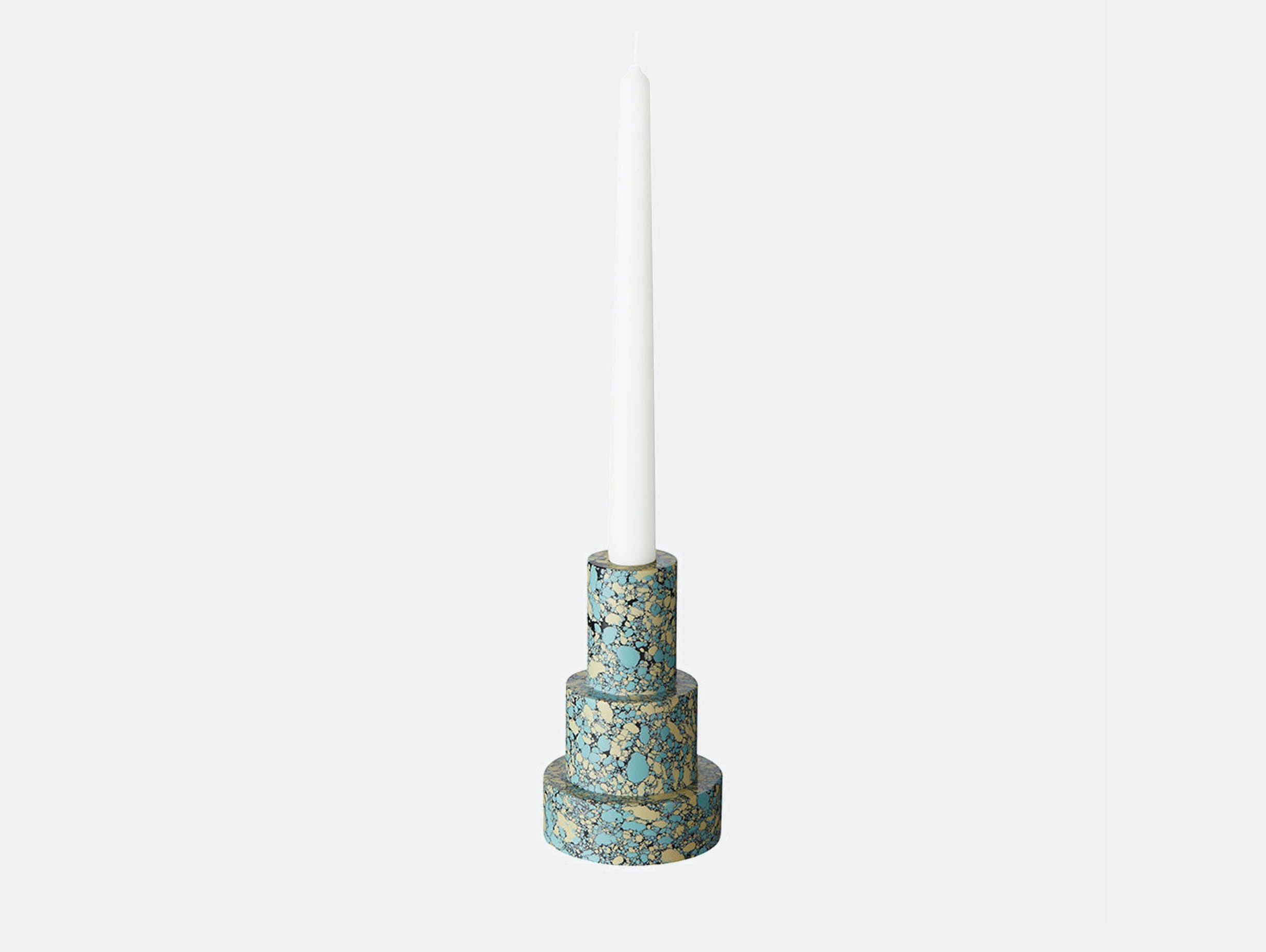 Tom dixon swirl stepped candle holder xdp 03