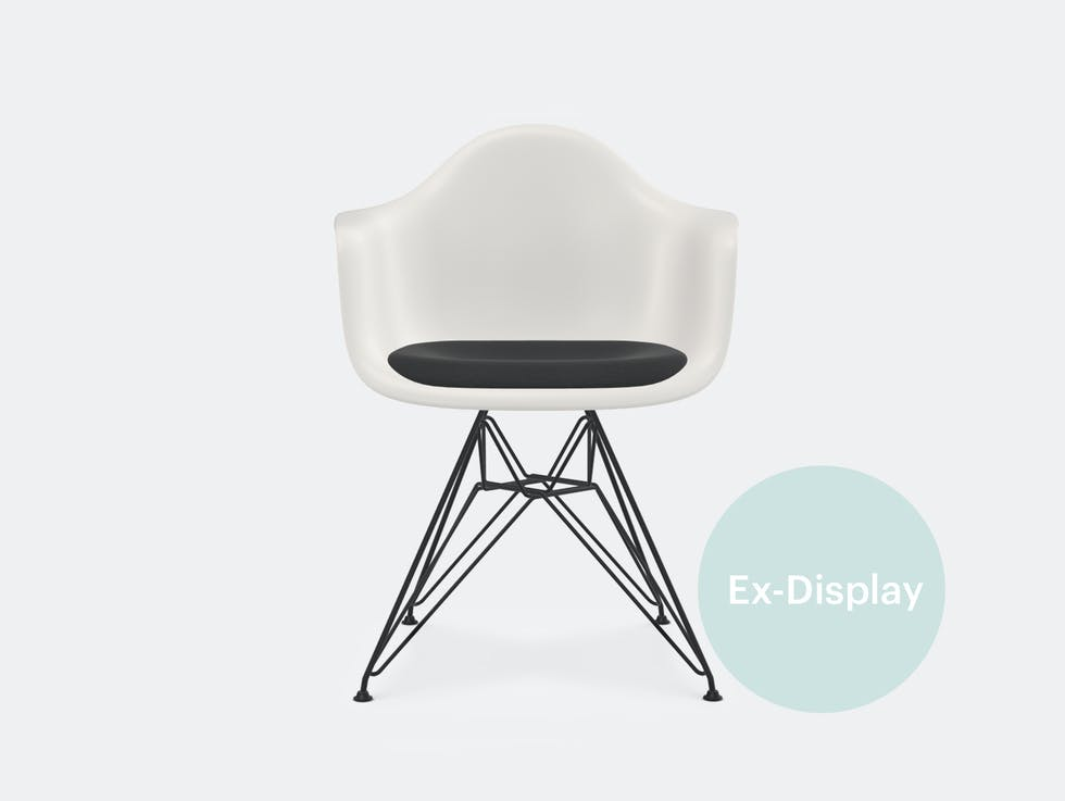 DAR Eames Plastic Armchair with Seat pad / 45% off at £250 image