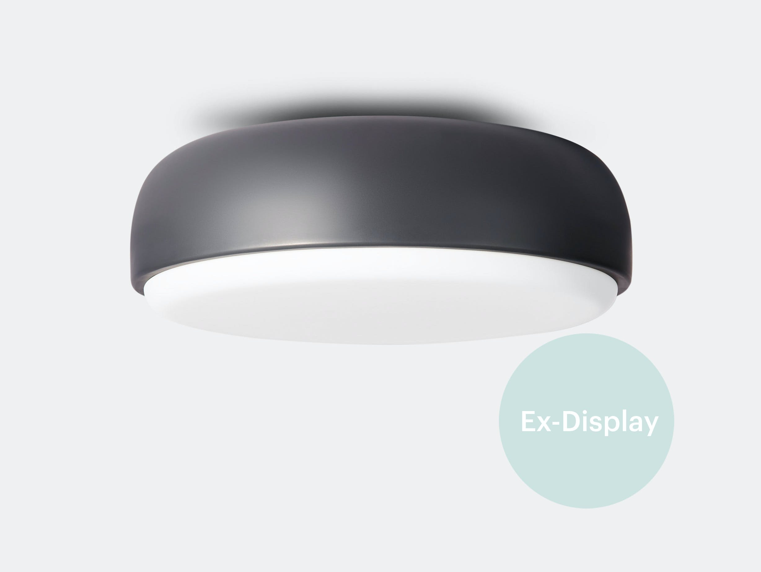Xdp northern over me wall lamp 40 dk grey