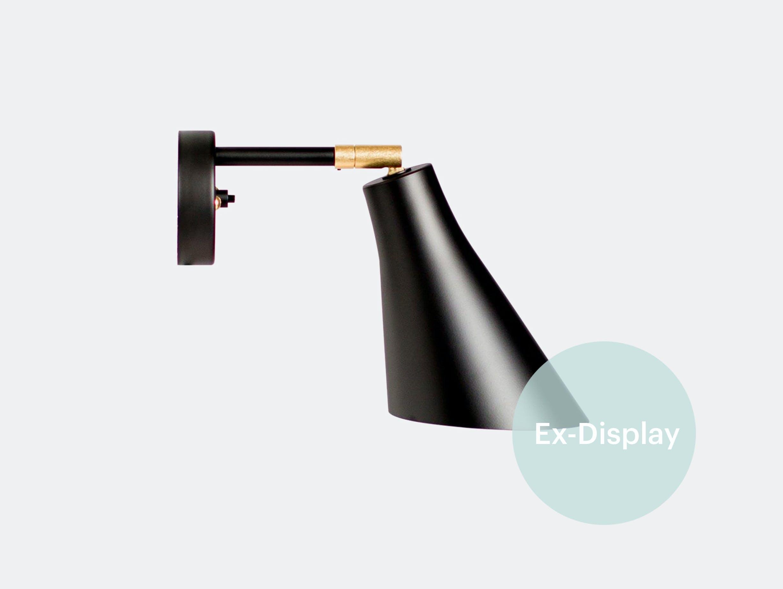 Xdp rubn miller wall light black brass