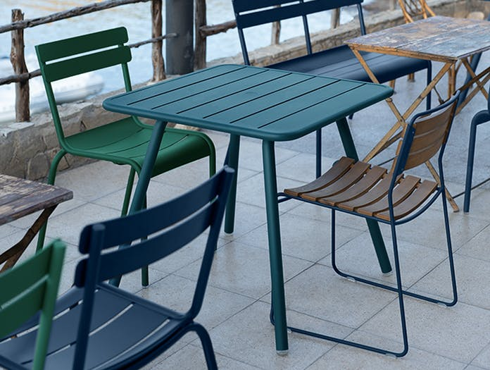 Fermob luxembourg square table story 1