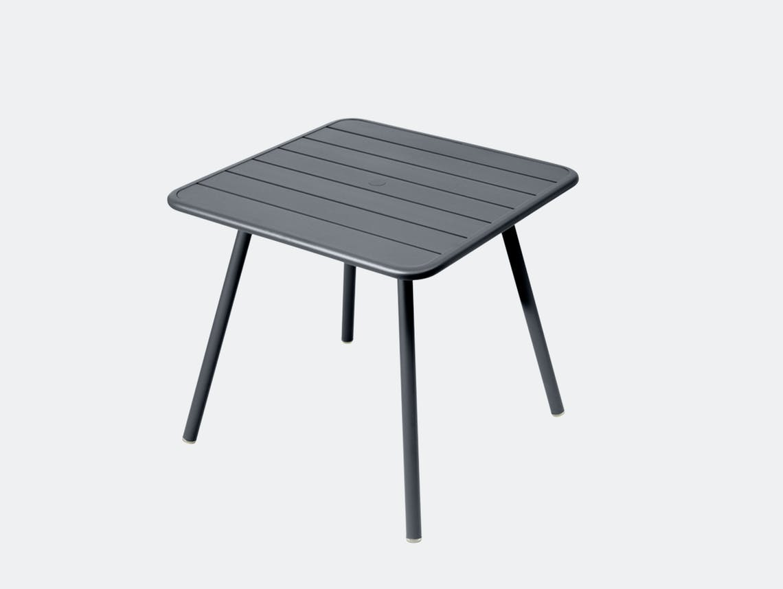 Fermob luxembourg table 80 anthracite
