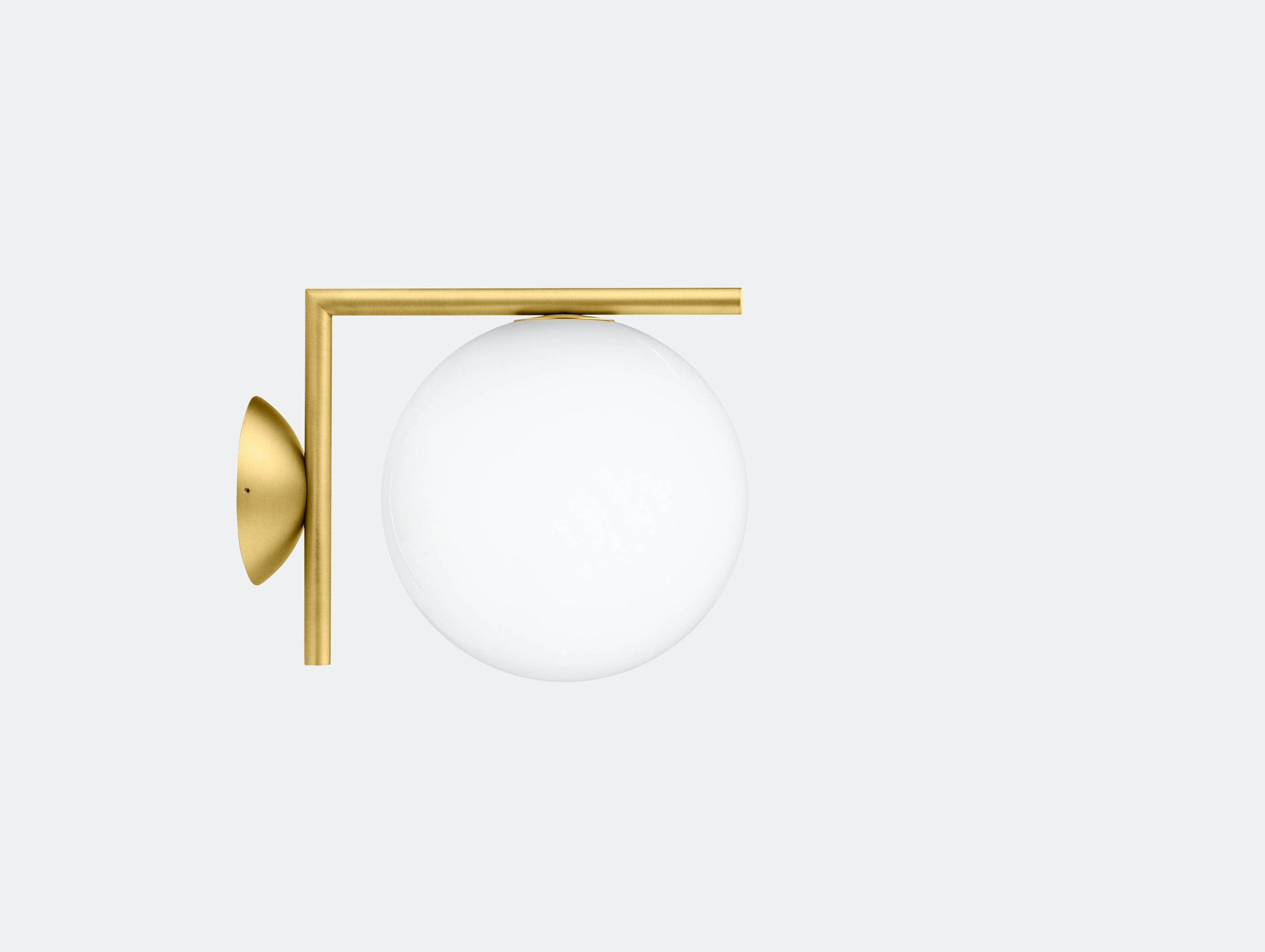 Flos Ic Ceiling Wall Light Cw1 Brass Michael Anastassiades