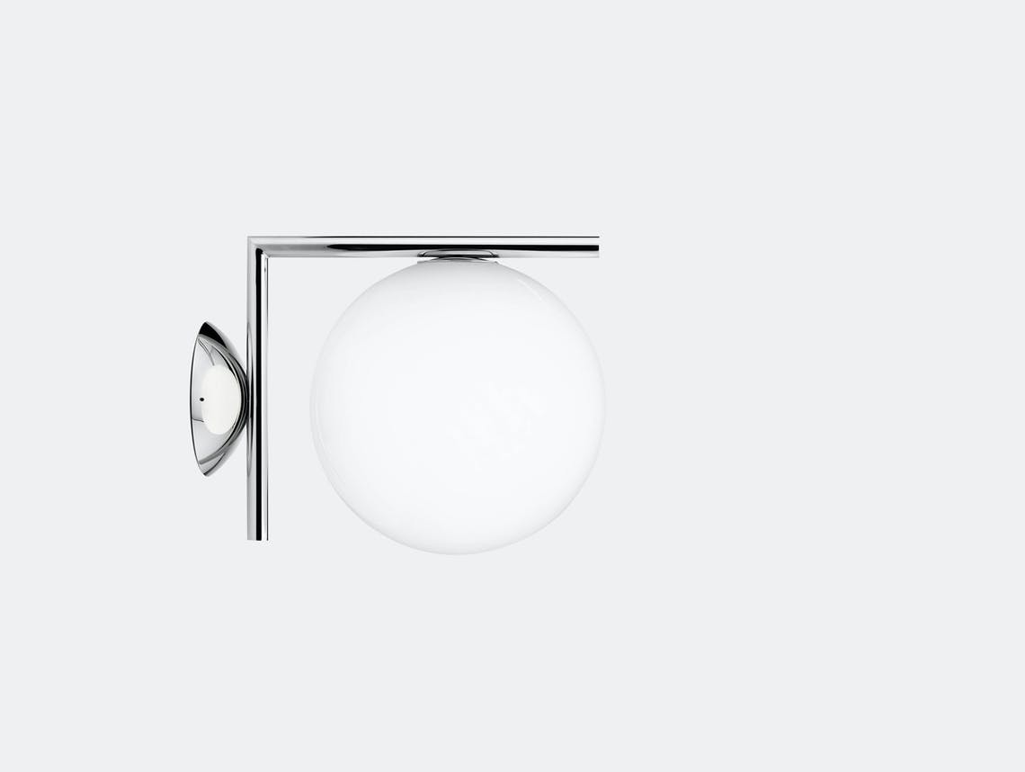 Flos Ic Ceiling Wall Light Cw1 Chrome Michael Anastassiades