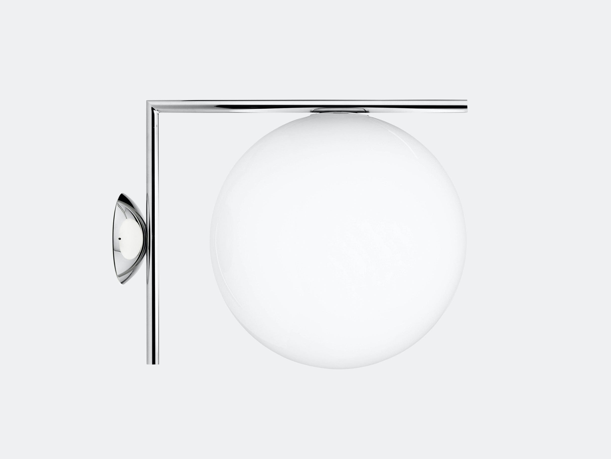 Flos Ic Ceiling Wall Light Cw2 Chrome Michael Anastassiades