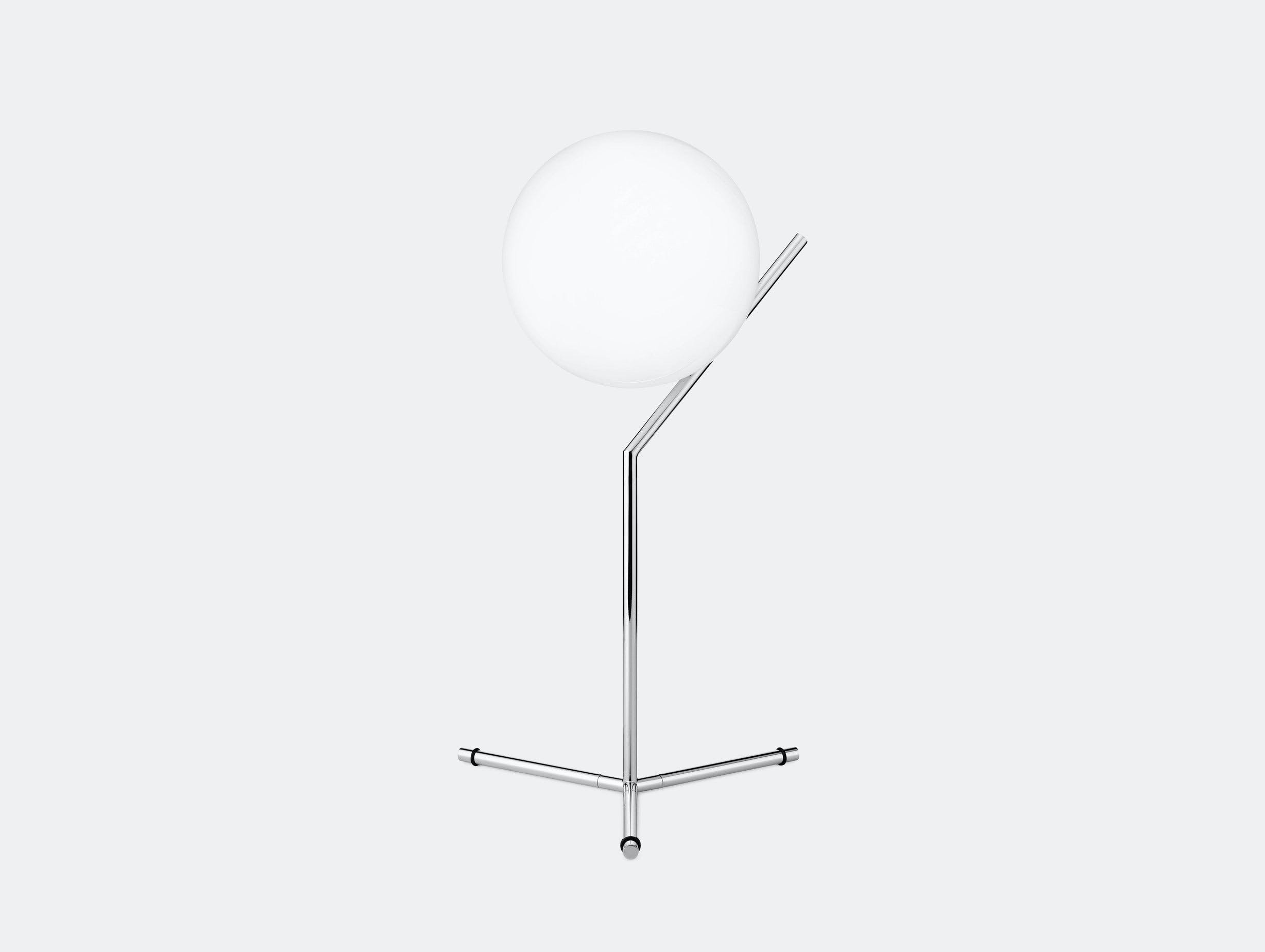Flos Ic T1 High Table Light Chrome Michael Anastassiades