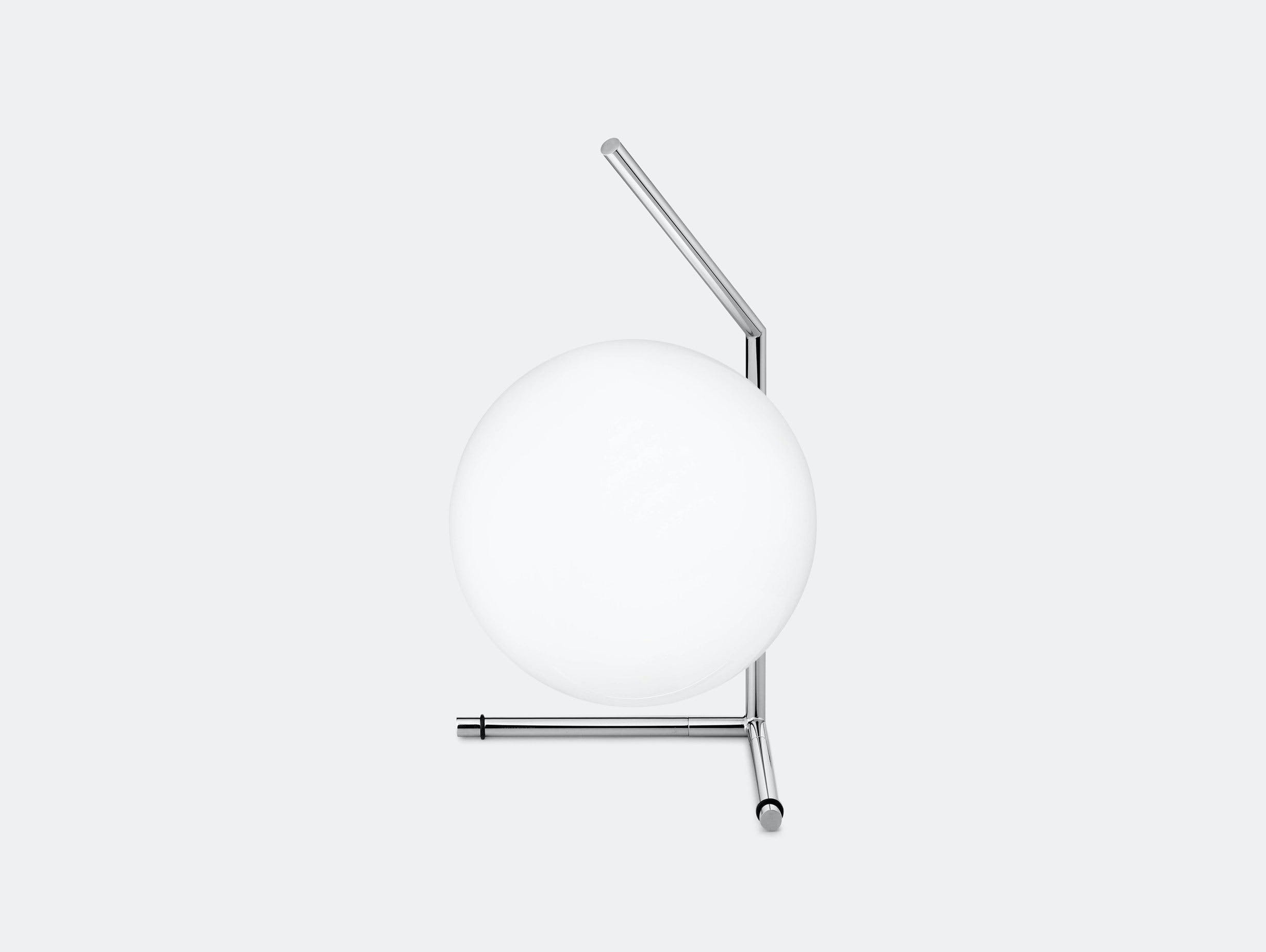 Flos Ic T1 Low Table Light Chrome Michael Anastassiades