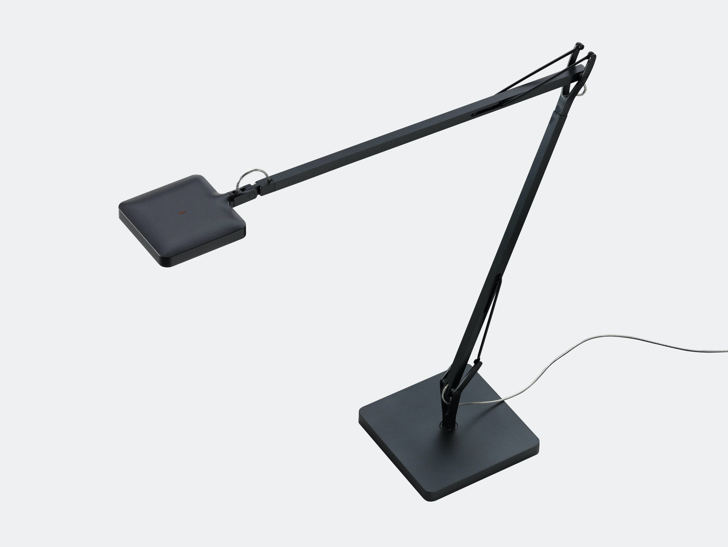 Flos Kelvin Led Desk Lamp Anthracite Antonio Citterio And Toan Nguyen