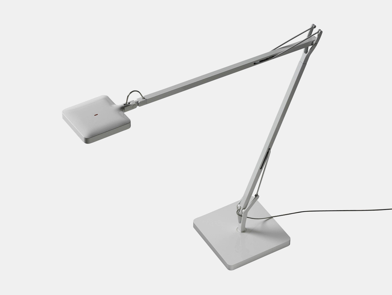 Flos Kelvin Led Desk Lamp White Antonio Citterio And Toan Nguyen