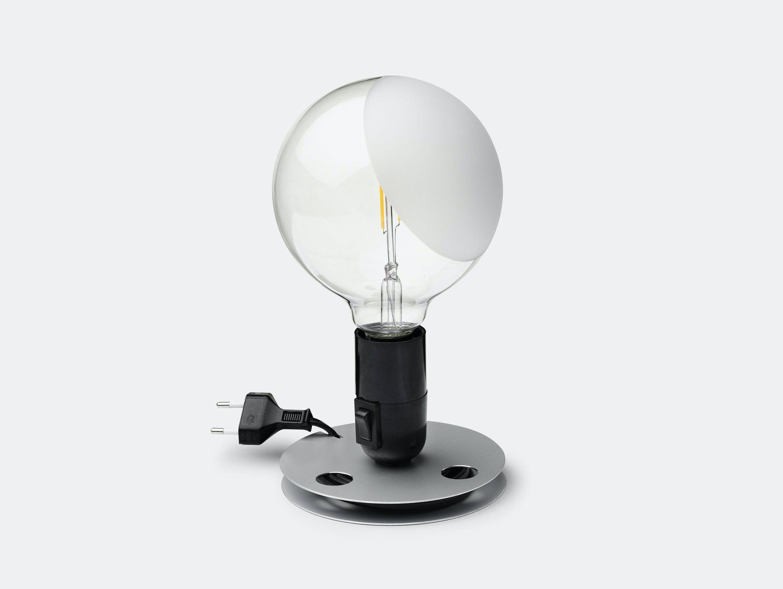 Flos Lampadina Table Light Black Achille Castiglioni