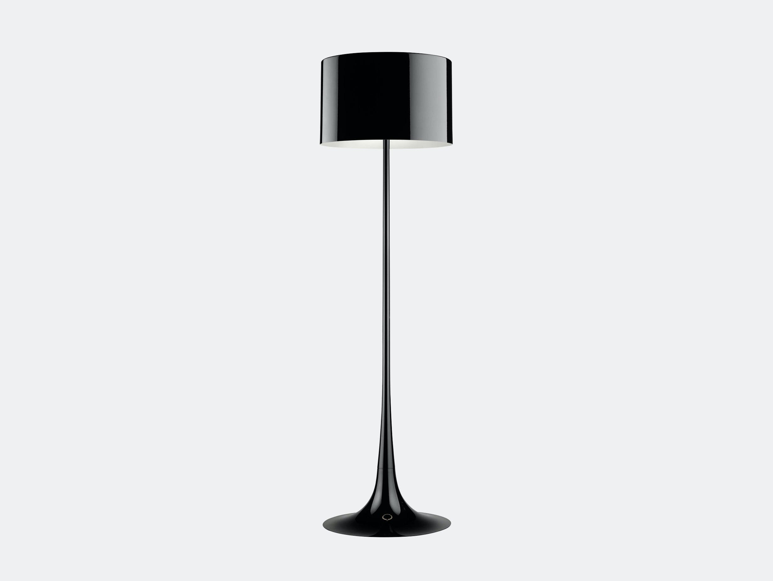 Flos Spun Floor Light Black Sebastian Wrong