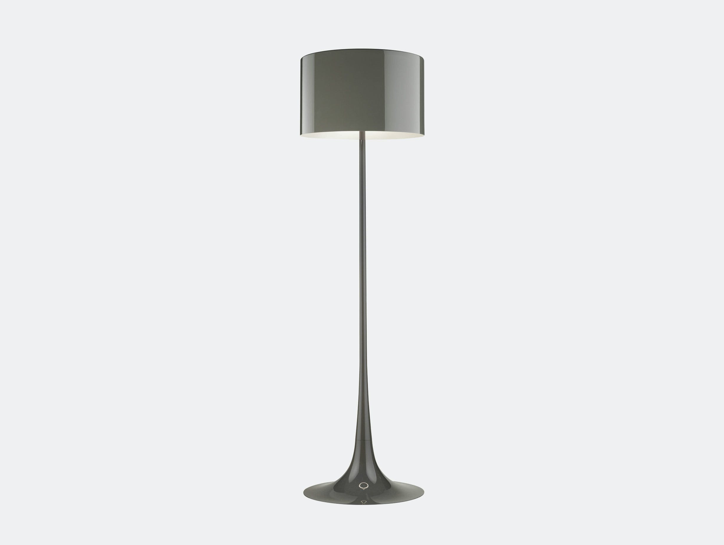 Flos Spun Floor Light Mud Sebastian Wrong