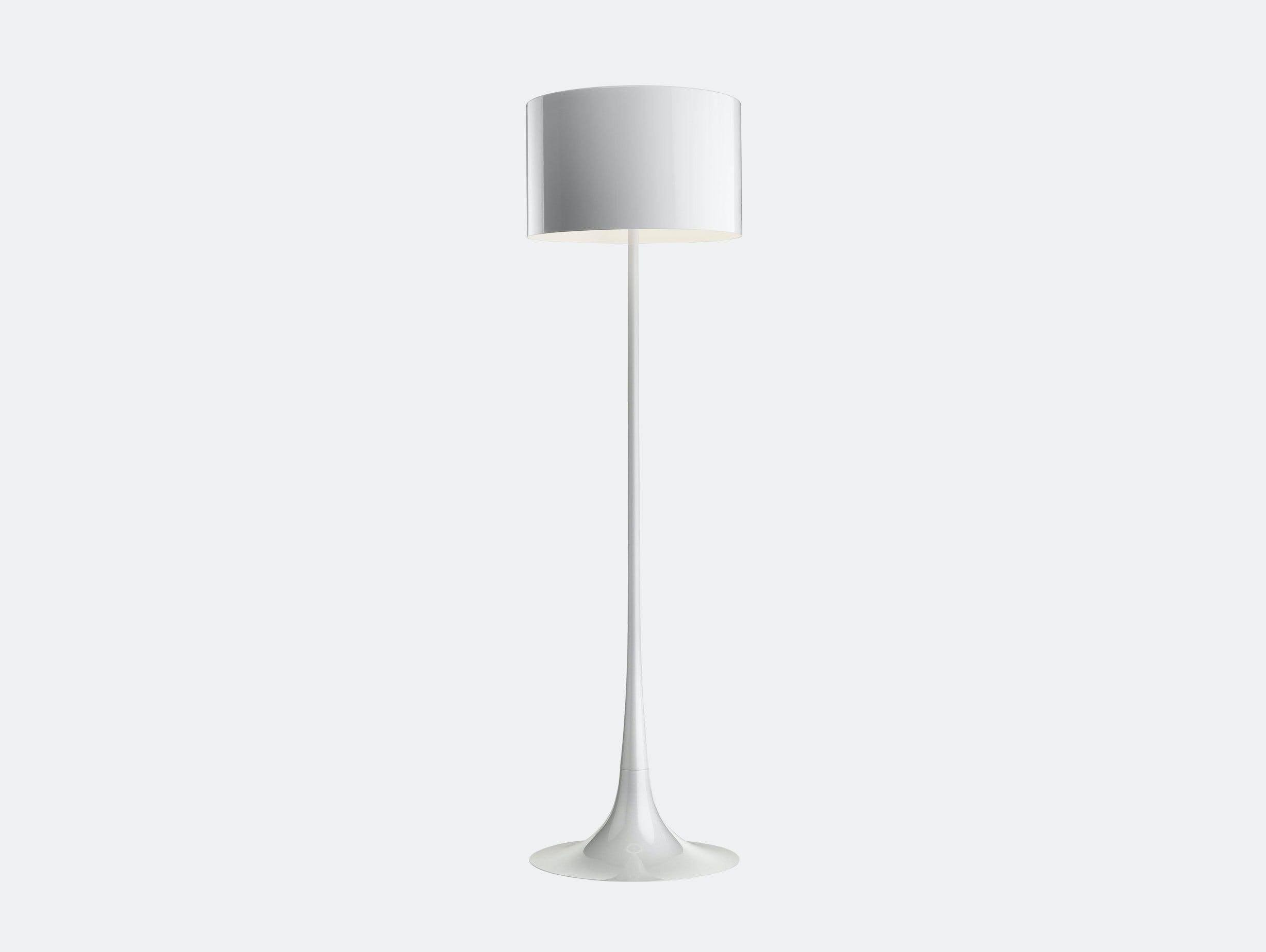 Flos Spun Floor Light White Sebastian Wrong