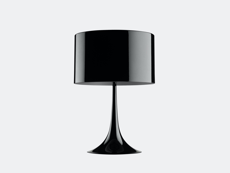 Flos Spun Table Light Black Sebastian Wrong