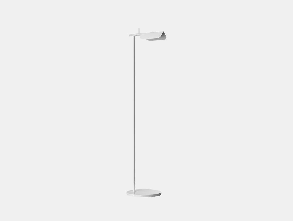 Flos Tab F Led Floor Lamp White Ed Barber Jay Osgerby