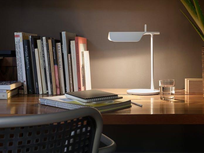 Flos Tab T Led Desk Lamp White 2 Ed Barber Jay Osgerby