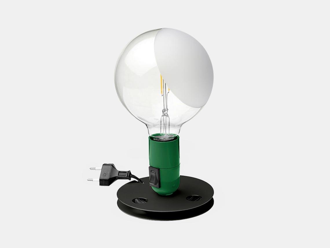 Flos lampadina table light green 2020