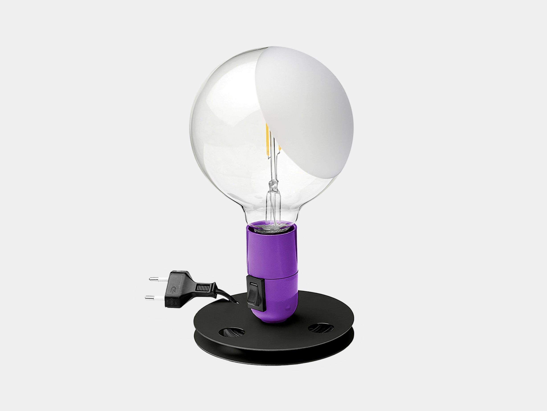 Flos lampadina table light purple 2020