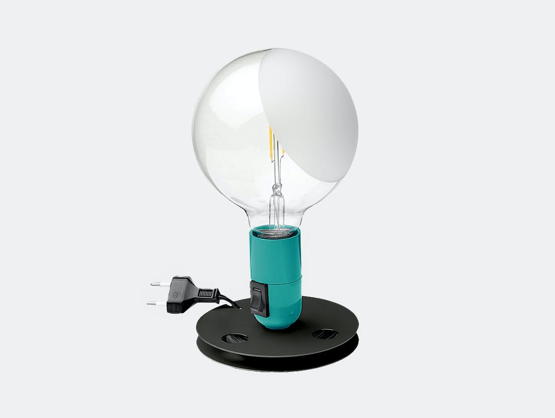 Flos lampadina table light turquoise 2020
