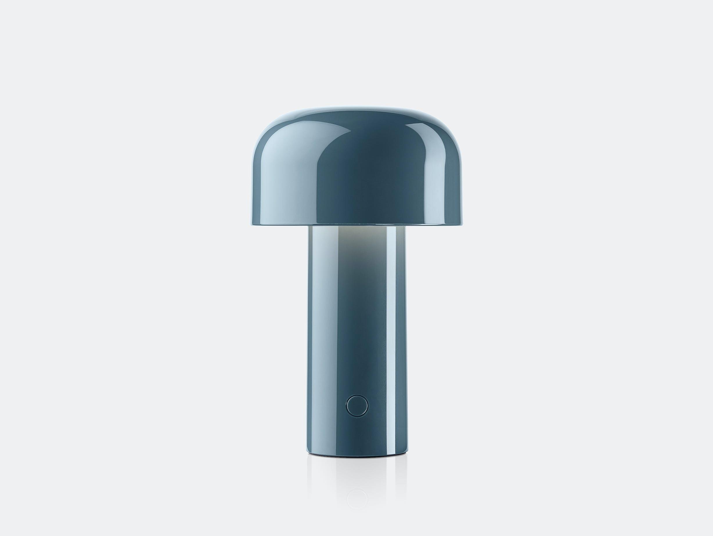 Flos bellhop table lamp blu grey