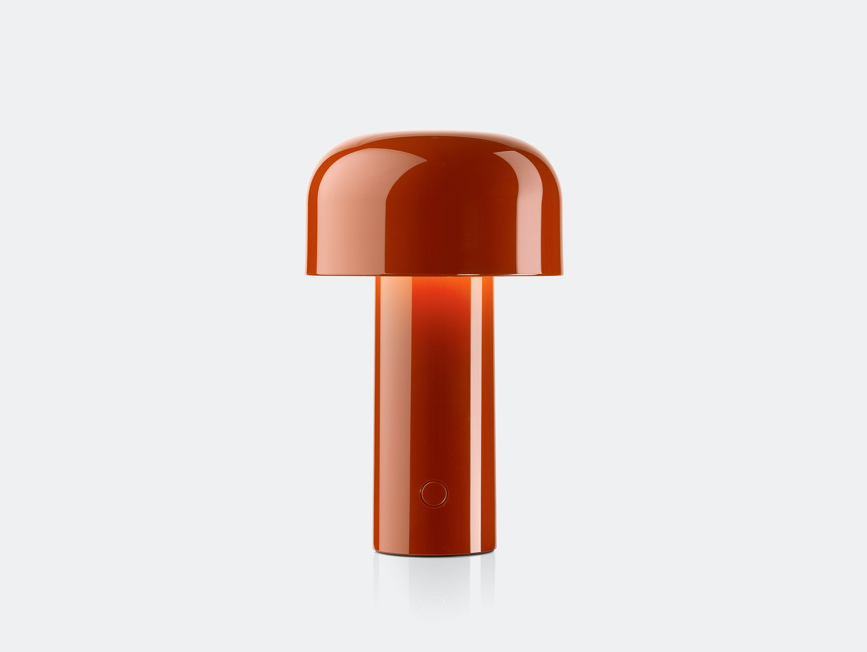 Flos bellhop table lamp red brick