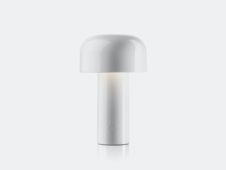Flos bellhop table lamp red white