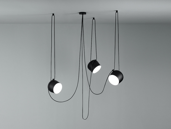 Flos Aim Small Pendant Light 3 Ceiling Ronan Erwan Bouroullec