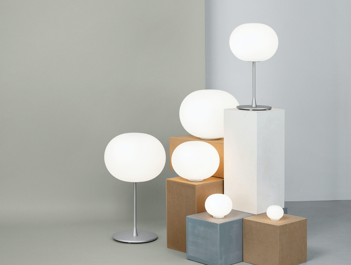 Flos Glo Ball Suspension Light Collection Jasper Morrison