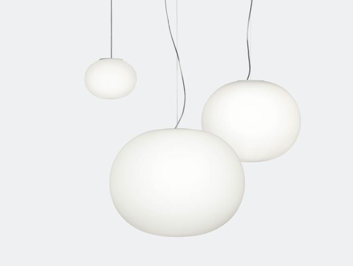 Flos Glo Ball Suspension Lights Mini S1 S2 Jasper Morrison