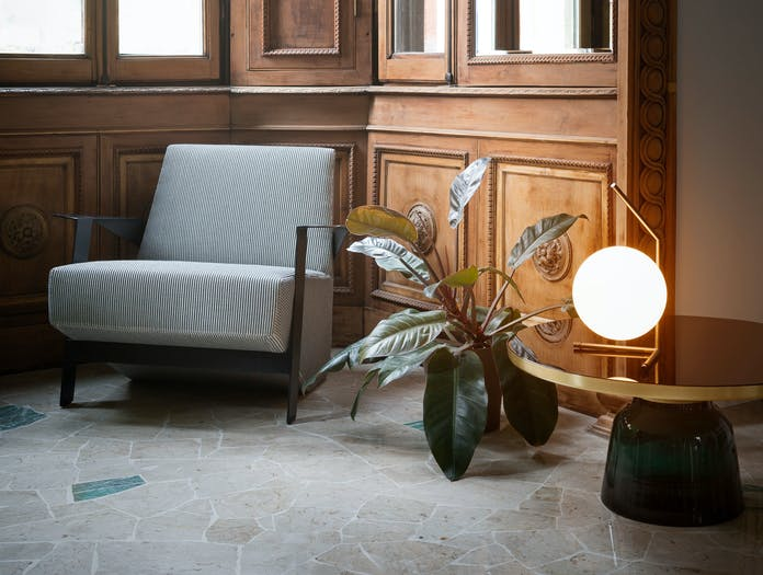 Flos Ic T1 Low Table Light Brass 3 Michael Anastassiades