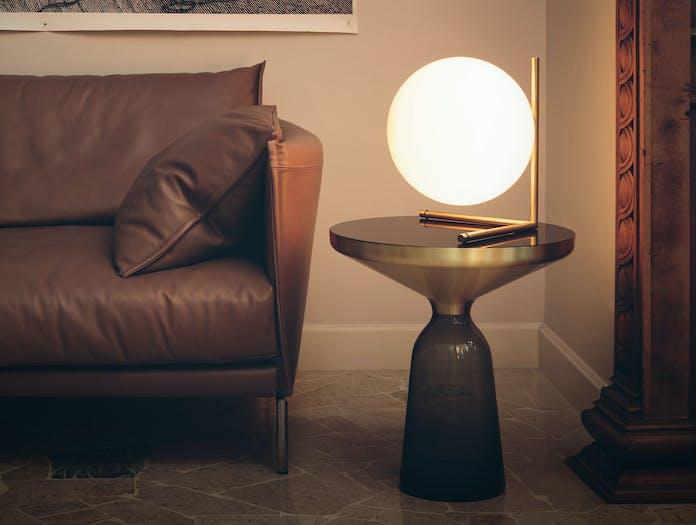 Flos Ic T2 Table Light Brass 2 Michael Anastassiades