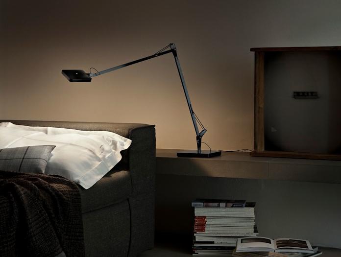 Flos Kelvin Led Desk Lamp Black Bedroom Antonio Citterio And Toan Nguyen