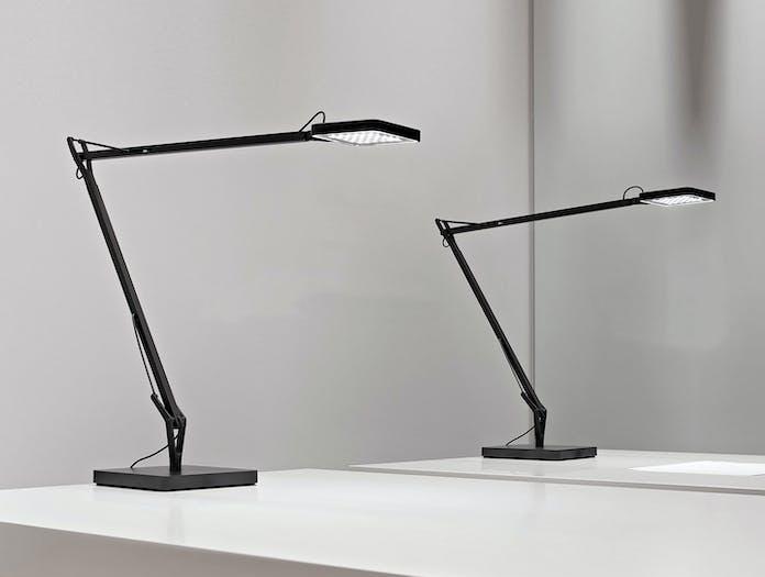 Flos Kelvin Led Desk Lamp Black Pair Antonio Citterio And Toan Nguyen