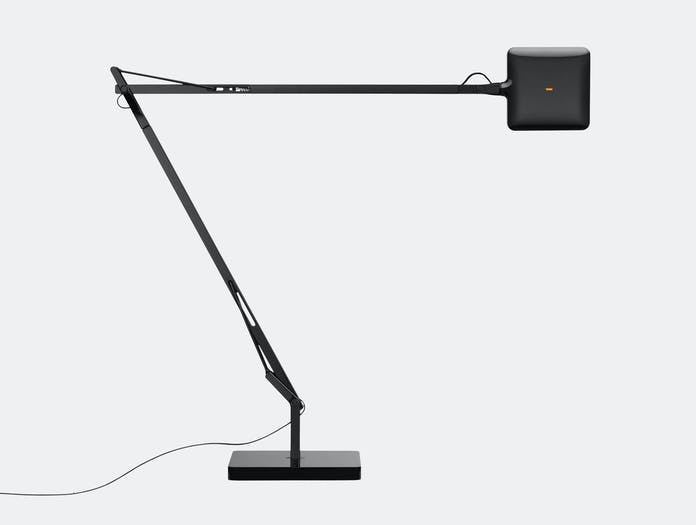 Flos Kelvin Led Desk Lamp Black Touch Sensor Antonio Citterio And Toan Nguyen