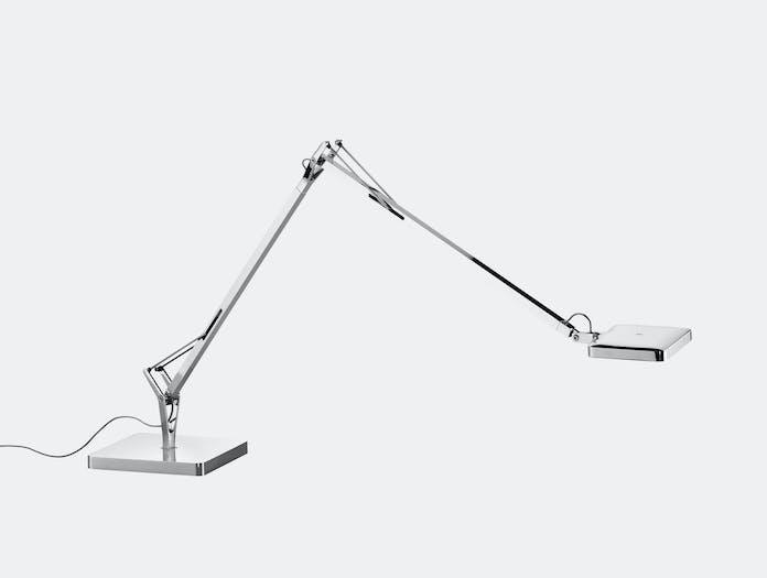 Flos Kelvin Led Desk Lamp Chrome Extended Antonio Citterio And Toan Nguyen
