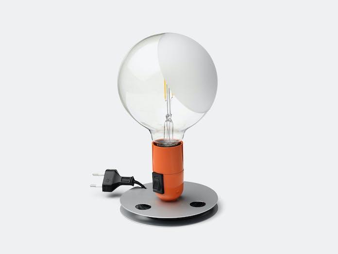 Flos Lampadina Table Light Orange Achille Castiglioni
