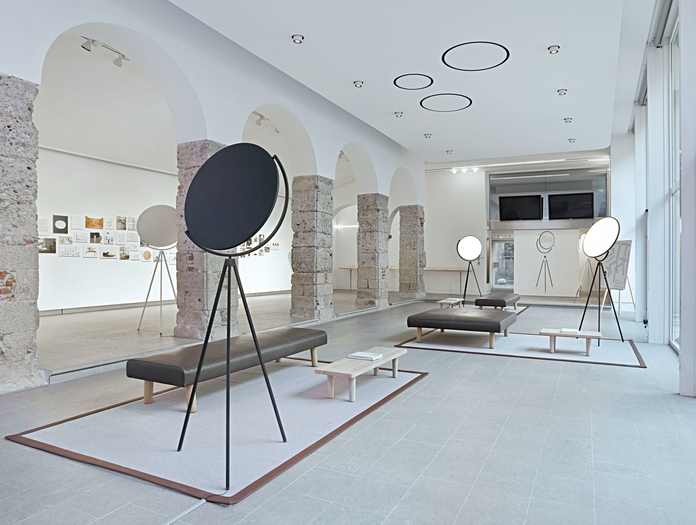 Flos Superloon Floor Light Group Jasper Morrison