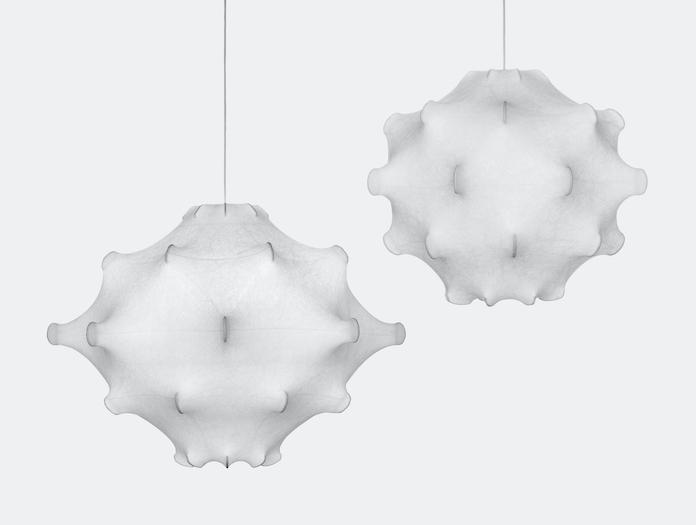 Flos Teraxacum Cocoon Pendant Lights 1 And 2 Achille Pier Giacomo Castiglioni